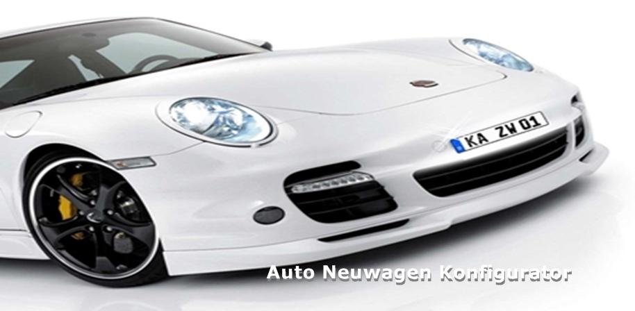 Auto Neuwagen Konfigurator