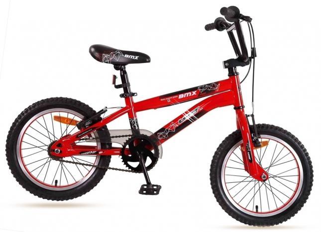 16 Zoll ZW Cycle Freestyle BMX Cross BX, rot-schwarz Preisvergleich