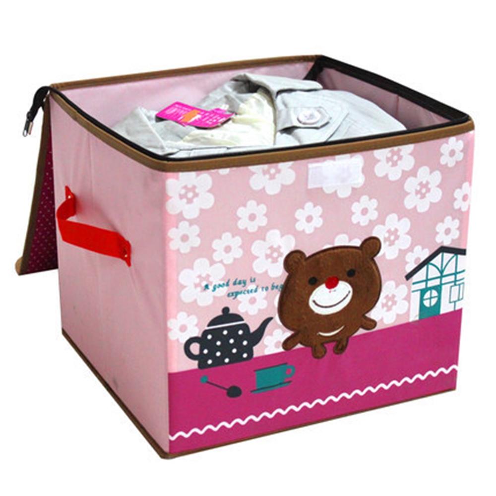 kinder aufbewahrungsbox spielzeugkiste truhe faltbox. Black Bedroom Furniture Sets. Home Design Ideas
