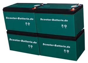 Bei Scooter-Batterie.de einfach alte oder nicht mehr benötigte Scooter Blei Batterien abgeben und Neue vergünstigt erhalten!